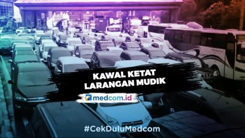 Kawal Ketat Larangan Mudik - Highlight Prime Talk Metro TV