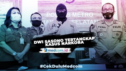 Dwi Sasono Jadi Tersangka Penyalahgunaan Narkoba
