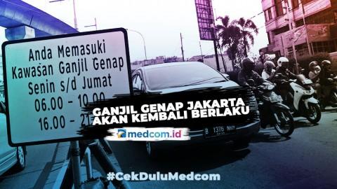 Ganjil Genap Jakarta Akan Kembali Berlaku, Bagaimana Aturan Saat Kenormalan Baru?