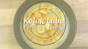 Iftar - Kolak Labu Parang & Pisang