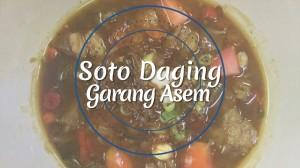 Iftar - Soto Daging Garang Asem