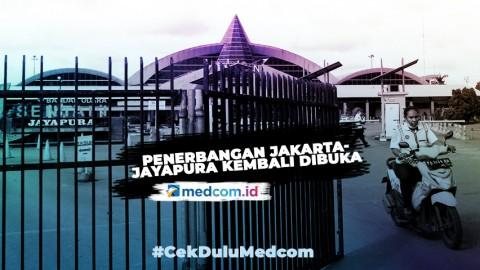 Penerbangan Jakarta-Jayapura Kembali Dibuka 10 Juni 2020