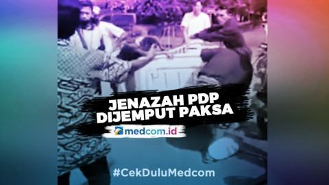 Jenazah PDP di Bekasi Dijemput Paksa Puluhan Warga