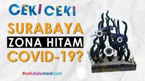 [Ceki-ceki] Surabaya Masuk Zona Hitam COVID-19? Cek Faktanya