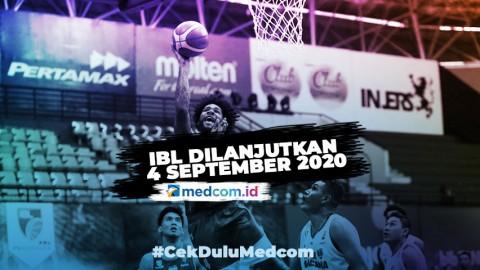 Kompetisi IBL Dilanjutkan 4 September 2020