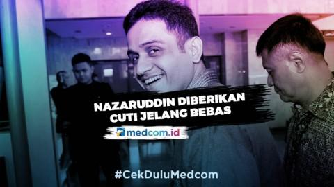 Nazaruddin Diberikan Cuti Jelang Bebas - Highlight Prime Talk Metro TV