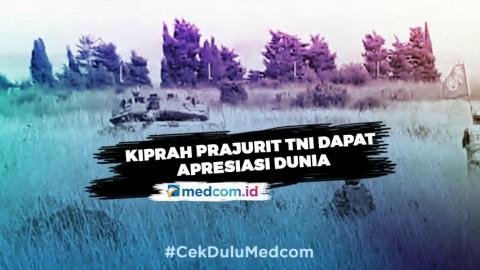 Kiprah Prajurit TNI Indobatt XXIII-N/UNIFIL Mendapat Apresiasi Dunia