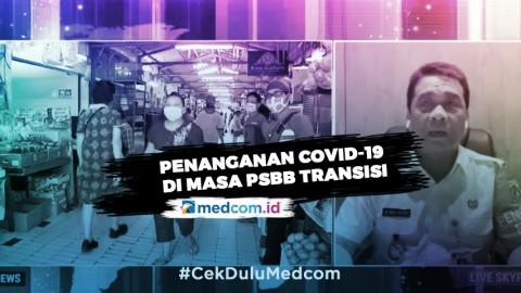 Dua Fokus DKI Jakarta di Masa PSBB Transisi Fase 2
