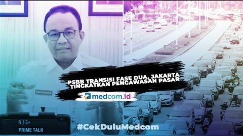 PSBB Transisi Fase Dua, Jakarta Tingkatkan Pengawasan Pasar - Highlight Prime Talk Metro TV