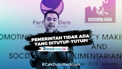 Prananda Paloh Sebut Penanganan COVID-19 di Indonesia Cukup Baik