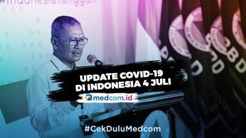 Update 4 Juli: 1.447 Kasus Baru, Total Jadi 62.142 Positif COVID-19