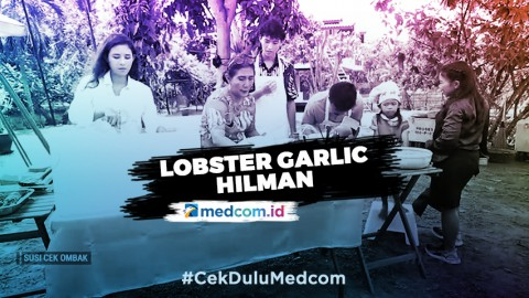 Lobster Garlic Hilman, Masakan Favorit Keluarga Susi Pudjiastuti