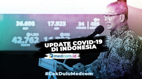 Update Kasus COVID-19 13 Juli: 1.282 Kasus Baru, DKI Penyumbang Tertinggi