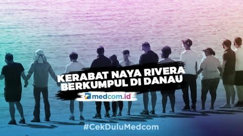 Kerabat Bintang Glee Naya Rivera Berkumpul di Tepi Danau Piru