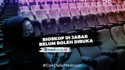 Ridwan Kamil Belum Izinkan Pembukaan Bioskop di Jawa Barat