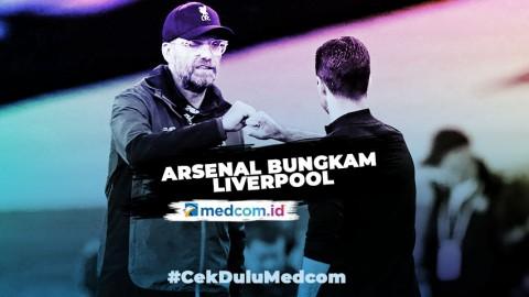 Arsenal Bungkam Liverpool, Sang Juara Liga Inggris kandas Lagi