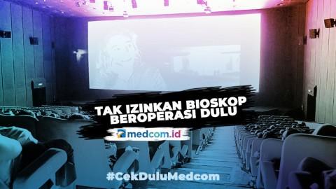 Rentan Jadi Lokasi Penularan COVID-19, Pemprov DKI Disarankan Tak Izinkan Bioskop Buka