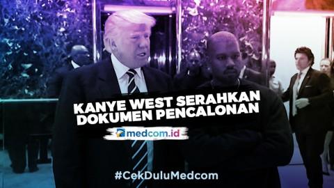 Kanye West Serahkan Dokumen Resmi Pertama untuk Maju di Pilpres AS