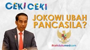 [Ceki-ceki] Jokowi akan Ubah Pancasila? Cek Faktanya
