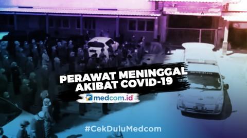Perawat RS Siti Hajar Meninggal, Salat Jenazah Digelar di Belakang Ambulans