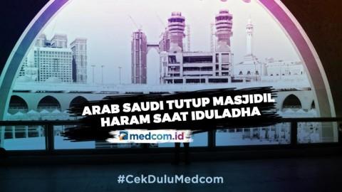 Masjidil Haram Ditutup Saat Iduladha