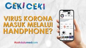 [Ceki-ceki] Jokowi Sebut Virus Korona Bisa Masuk Lewat HP? Simak Faktanya