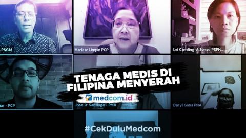 Tenaga Medis di Filipina Menyerah Melawan COVID-19