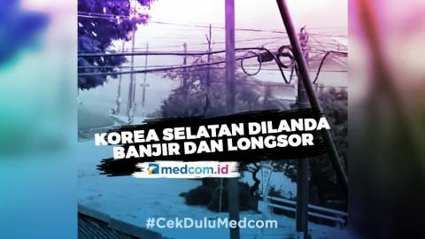Longsor dan Banjir Landa Korea Selatan, Enam Orang Tewas