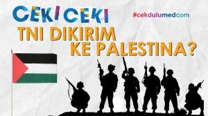 [Ceki-ceki] TNI Kirim Pasukan ke Palestina? Ini Faktanya