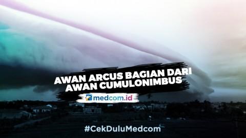 Fenomena Awan Arcus di Aceh Barat