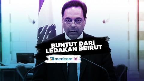 PM Hassan Diab Mundur Tak Hentikan Aksi Rakyat Lebanon