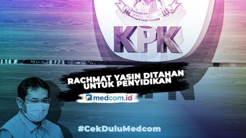 KPK Tahan Mantan Bupati Bogor