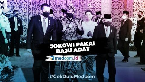 Hadiri Sidang Tahunan MPR, Jokowi Kenakan Pakaian Khas NTT