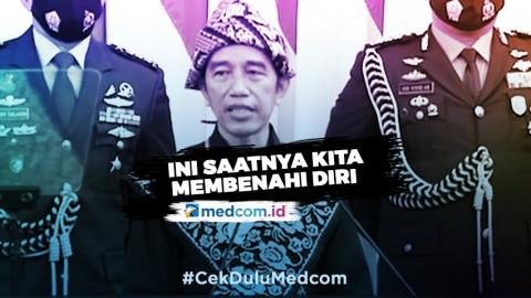 Highlight Pidato Kenegaraan Presiden Jokowi