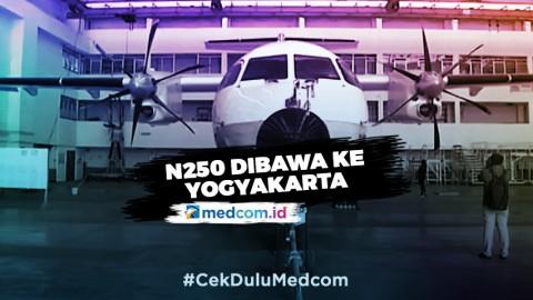 Pesawat N250 Karya Habibie akan Dimuseumkan