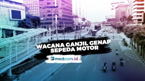 Ganjil Genap Sepeda Motor DKI Efektif Kurangi Kasus COVID-19? - Highlight Primetime News Metro TV