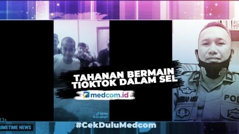Heboh Tahanan Bermain Aplikasi TikTok, 2 Polisi Diperiksa