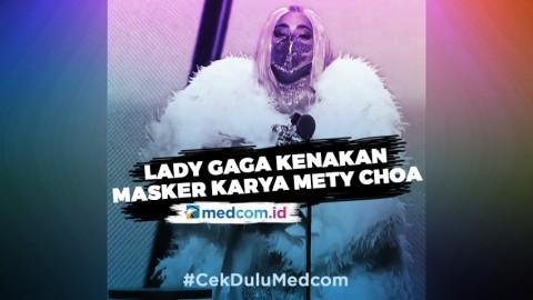 Lady Gaga Kenakan Masker Karya Desainer Indonesia di MTV VMA 2020