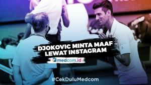 Tak Sengaja Pukul Bola ke Hakim Garis, Djokovic Didiskualifikasi dari Grand Slam