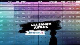 DKI Jakarta Rem Darurat, IHSG Ditutup Melemah