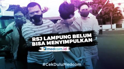 RSJ Lampung Tak Temukan Rekam Medis Pelaku Penusukan Syekh Ali Jaber