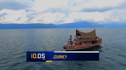 The Majestic Lake Toba