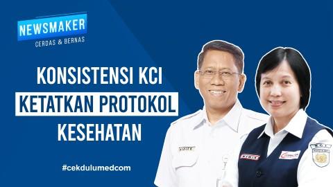 Konsistensi KCI Ketatkan Protokol Kesehatan