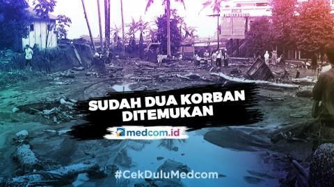 Lebih dari 300 Rumah Rusak Akibat Banjir Bandang Sukabumi