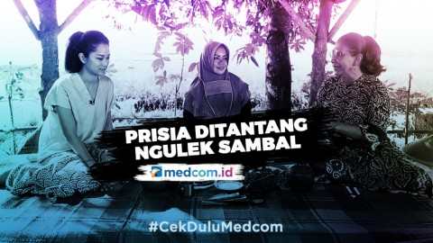 Masak Nasi Liwet Bersama Susi Pudjiastuti dan Prisia Nasution