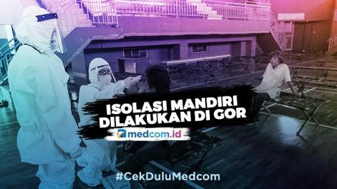 DPRD DKI Jakarta Minta Isolasi Mandiri Dilakukan di GOR