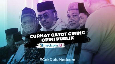 MPR: Curhatan Gatot Menjadi Politis