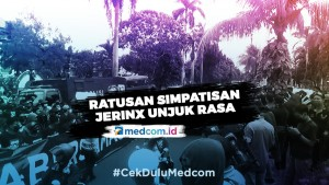 Polisi Bubarkan Simpatisan Jerinx yang Unjuk Rasa di PN Denpasar