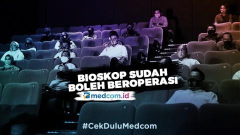 Bioskop di Jakarta Sudah Diizinkan Beroperasi