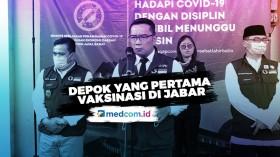 Ridwan Kamil Sebut Warga Depok Prioritas Divaksinasi COVID-19